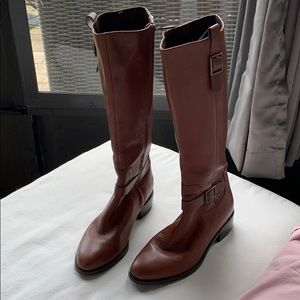 Cole Haan Brown Leather Boots 9 1/2B